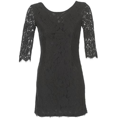 Textil Mulher Vestidos curtos Betty London FLIZINE Preto