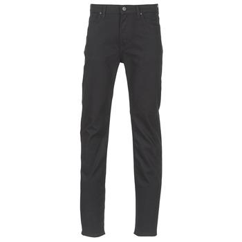 Textil Homem Calças Jeans Lee RIDER Preto