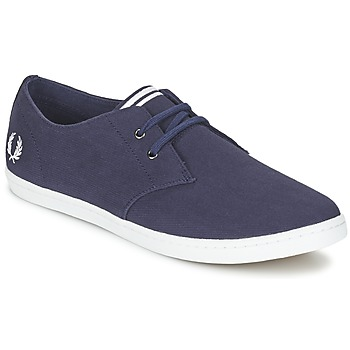 Sapatos Homem Sapatilhas Fred Perry BYRON LOW TWILL Marinho