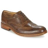 Sapatos Homem Sapatos Hudson KEATING CALF Castanho