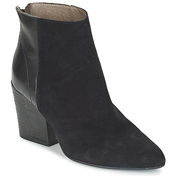 Sapatos Mulher Botins Hudson MELI CALF Preto