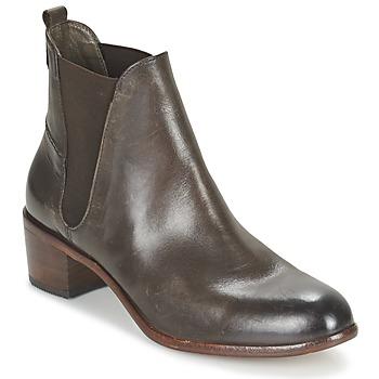 Sapatos Mulher Botins Hudson COMPUND CALF Castanho