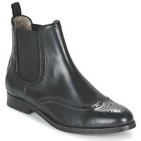 Sapatos Mulher Botas baixas Hudson ASTA CALF Preto