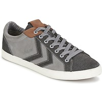 Sapatos Sapatilhas Hummel DEUCE COURT WINTER Cinza