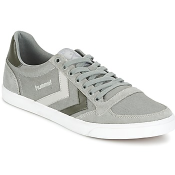 Sapatos Sapatilhas Hummel TEN STAR DUO CANVAS LOW Cinza