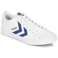 Sapatos Sapatilhas Hummel BASELINE COURT Branco / Azul