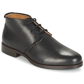 Sapatos Homem Botas baixas M. Moustache EDMOND Preto