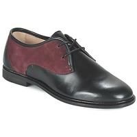 Sapatos Mulher Sapatos M. Moustache EUGENIE Preto / Bordô