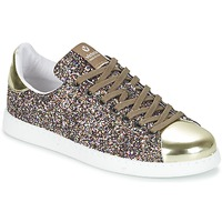 Sapatos Mulher Sapatilhas Victoria DEPORTIVO BASKET GLITTER Multicolor