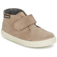 Sapatos Criança Sapatilhas de cano-alto Victoria SAFARI SERRAJE VELCRO Toupeira