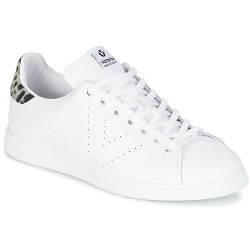 Sapatos Mulher Sapatilhas Victoria DEPORTIVO BASKET PIEL Branco