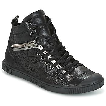 Sapatos Mulher Sapatilhas de cano-alto Pataugas BANJOU Preto