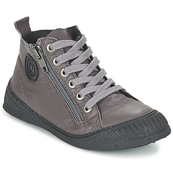 Sapatos Rapaz Sapatilhas de cano-alto Pataugas ROCKET/N Cinza