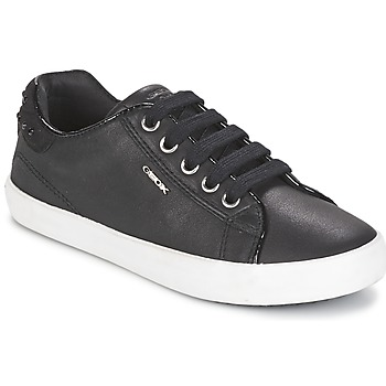 Sapatos Rapariga Sapatilhas Geox KIWI GIRL Preto