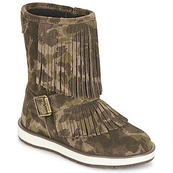 Sapatos Rapariga Botas baixas Geox NOHA Verde