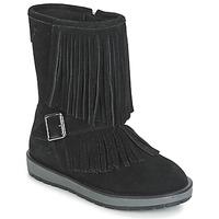 Sapatos Rapariga Botas baixas Geox NOHA Preto