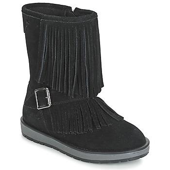 Sapatos Rapariga Botas Geox NOHA Preto