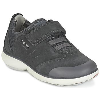 Sapatos Rapaz Sapatilhas Geox NEBULA BOY Cinza