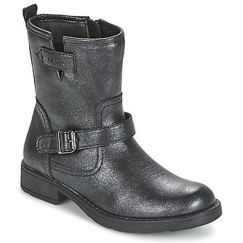 Sapatos Rapariga Botas baixas Geox SOFIA Preto