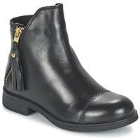 Sapatos Rapariga Botas baixas Geox AGATE Preto