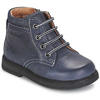 Sapatos Rapaz Botas baixas Geox B GLIMMER Azul
