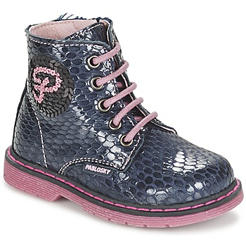Sapatos Rapariga Botas baixas Pablosky CHAVISKA Marinho