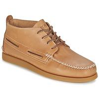 Sapatos Homem Botas baixas Sperry Top-Sider A/O WEDGE CHUKKA LEATHER Bege