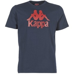 Textil Homem T-Shirt mangas curtas Kappa ESTESSI Marinho
