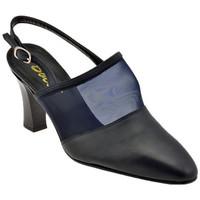 Sapatos Mulher Escarpim Bocci 1926  Azul