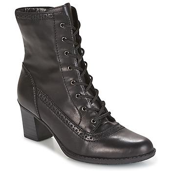 Sapatos Mulher Botins Rieker SEBILLE Preto