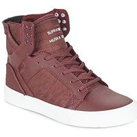Sapatos Sapatilhas de cano-alto Supra SKYTOP Bordô