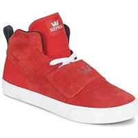 Sapatos Homem Sapatilhas de cano-alto Supra ROCK Vermelho