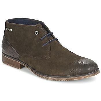 Sapatos Homem Botas baixas Tom Tailor REVOUSTI Castanho