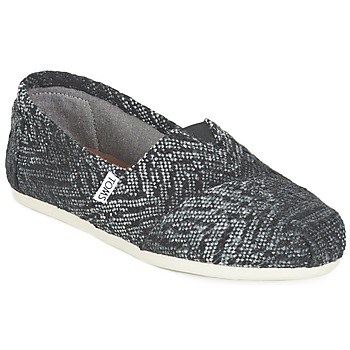Sapatos Mulher Slip on Toms SEASONAL CLASSIC Cinza