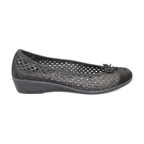 Sapatos Mulher Sabrinas Vulladi CRAQUELE NEGRO