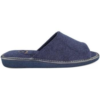 Sapatos Homem Chinelos Vulladi SAPATAS DE FERRO POR CASA  TOALHA HOMEM AZUL