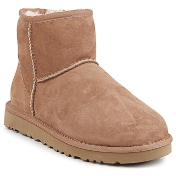 Sapatos Mulher Botas baixas UGG CLASSIC MINI Castanha