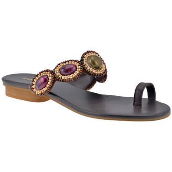 Sapatos Mulher Chinelos Swish  Castanho