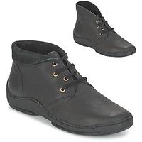 Sapatos Mulher Botas baixas Arcus MOKALA Preto