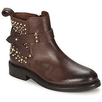 Sapatos Mulher Botas baixas Koah LAUREEN Escuro / Castanho