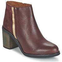 Sapatos Mulher Botins Casual Attitude FELICITA Cor-de-vinho