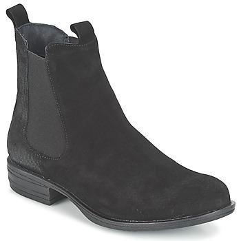 Sapatos Mulher Botas baixas Casual Attitude FENDA Preto