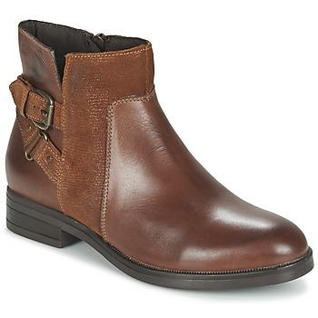 Sapatos Mulher Botas baixas Casual Attitude FERDAWA Camel