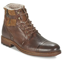 Sapatos Homem Botas baixas Casual Attitude FIRDAOUS Castanho