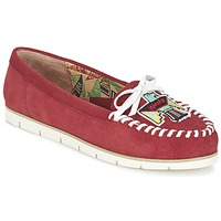 Sapatos Mulher Mocassins Miss L'Fire YHUNDERBIRD Vermelho