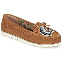 Sapatos Mulher Mocassins Miss L'Fire CHIEFTAIN Camel