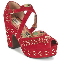 Sapatos Mulher Sandálias Miss L'Fire SELINA Vermelho