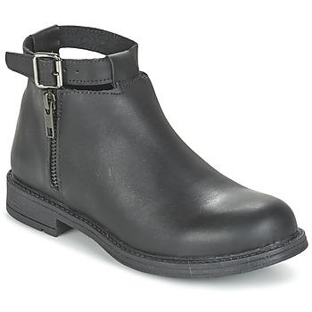 Sapatos Rapariga Botas baixas Citrouille et Compagnie FRIZZY Preto