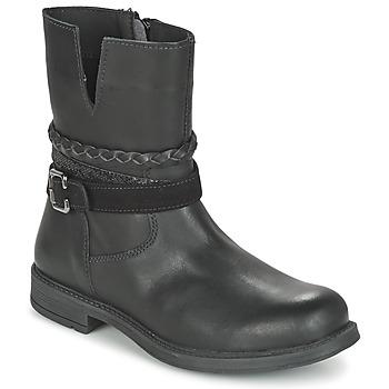 Sapatos Rapariga Botas baixas Citrouille et Compagnie FURAMO Preto
