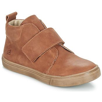 Sapatos Rapaz Botas baixas Citrouille et Compagnie FOJAMO Camel